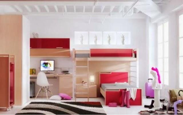 Dormitorio juvenil madera - Habitaciones juveniles tren ...