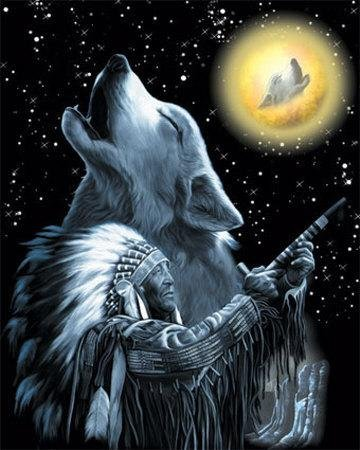 Indian Magic Wolf, Magic And Spells