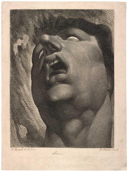 William Blake Satan, William Blake