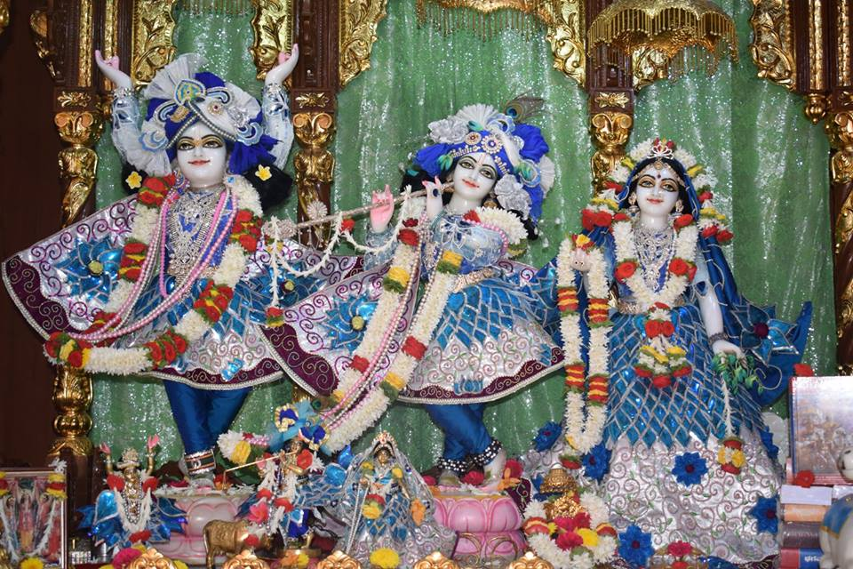 ISKCON Bangalore Deity Darshan 06 Jan 2017 (1)