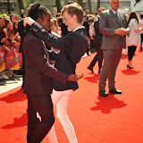 OIC - ENTSIMAGES.COM - Charlie Lenehan of Bars and Melody Band and Akai Osei-Mansfield at the UK premiere of Up All Night at at Vue Leicester Square London 10th May 2015  Photo Mobis Photos/OIC 0203 174 1069