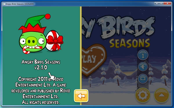 Angry Birds Seasons 2.1.0 - 2012