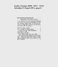 Leader (Orange, NSW 1912 - 1922) Saturday 17 August 1912, page 6.jpg