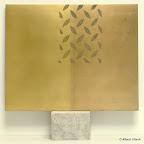 o. T. Messing, Bronze, 1997