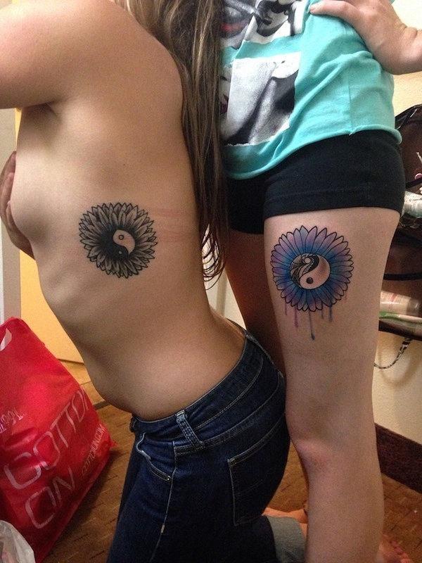 o_girassol_e_a_yinyang_melhor_amigo_tatuagens