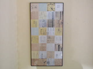 Signed Architectural Drawing Collage