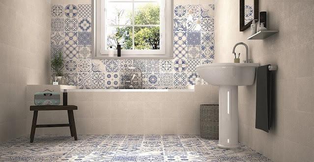 Memilih Permukaan Keramik Dinding dan Lantai Kamar Mandi