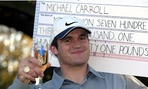 Sad story of Michael Carroll who won a lottery of £9.7m and blew it on cocaine and prostitutes