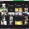Serunya Ribuan Siswa SMK Swasta se- Sleman Saat Ikuti Pembukaan MPLS Virtual