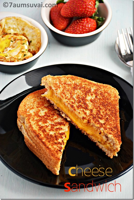 Cheese sandwich / Grilled cheese sandwich