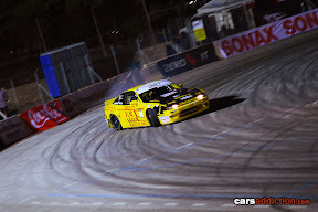 Anthony Scott in his Nissan PS13