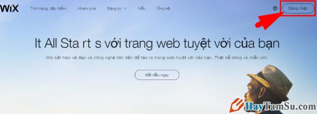 Hướng dẫn bạn đọc cách tạo Website miễn phí với Wix.com + Hình 2