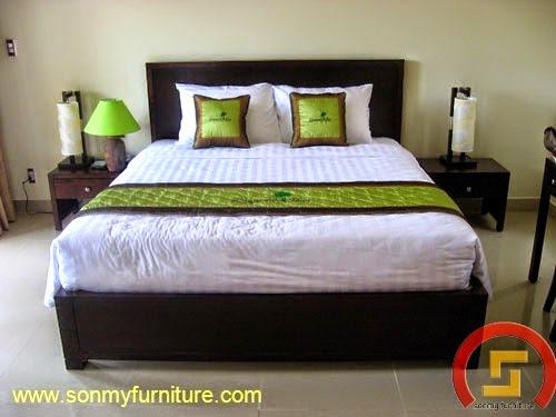 Mẫu giường ngủ SMF 742