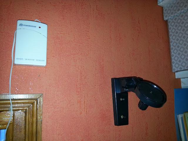 Fixation au mur