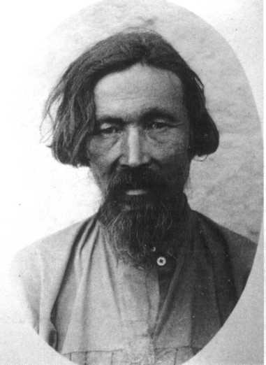 Сагаец Барахтаев.  Сеок харга.  Островских П. Е. 1890-е гг.