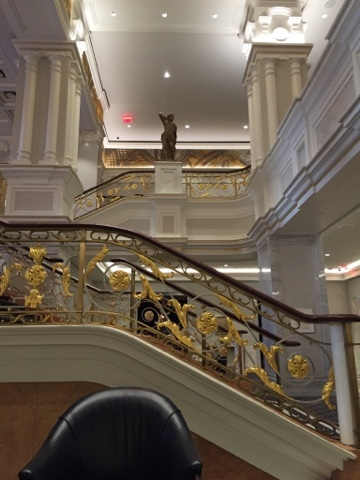 Staircase at the Lotte New York Palace, Leona Helmsly