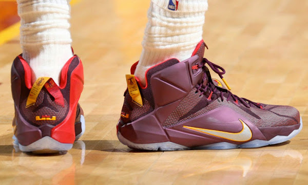 more photos 20b1d 8ae7c Closer Look at King James' Nike LeBron 12