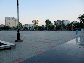Photo: Year 2 Day 31 - The Central Plaza/Square in Vinh Long