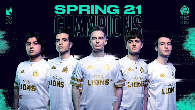 LEC 2021 Bahar Mevsimi Şampiyonu Mad Lions!