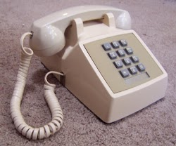 A Touch-Tone telephone. Photo courtesy of Retero00064.