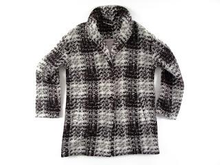 Bernardo Three Quarter Length Knit Coat