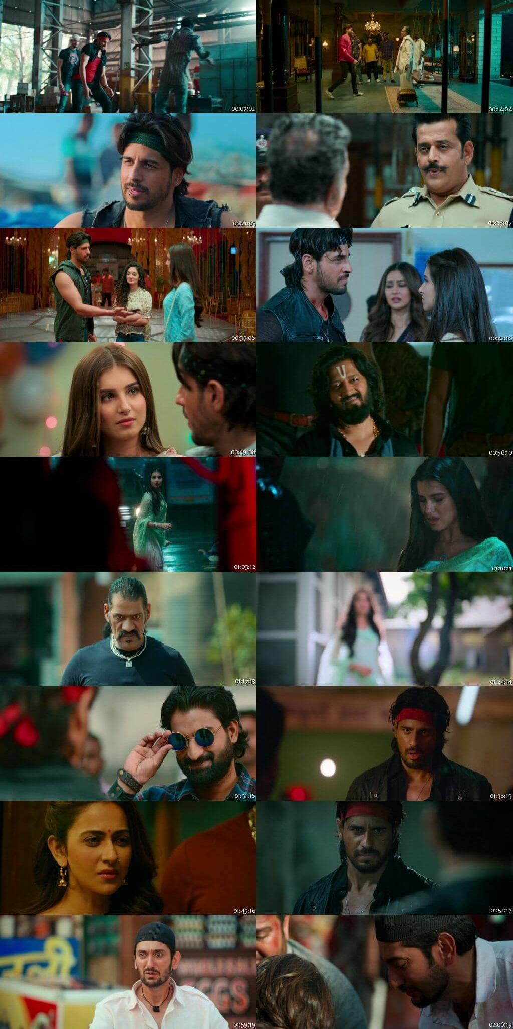 Screen Shot Of Marjaavaan  2019 Full Movie Free Download HD 720P Watch Online
