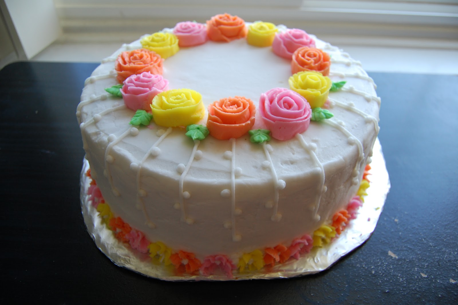 Wilton Cake Decorating Buttercream Icing : ilovecakes: Wilton cake decorating course cakes