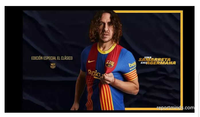 El Clásico: Barcelona will wear a special edition of their home jersey against Real Madrid