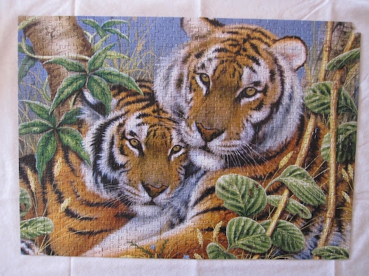 Tiger Jigsaw Puzzle 1000 Pieces