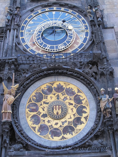 Clock Tower, Prague (it's over 600 years old!). From what to see and do in Prague