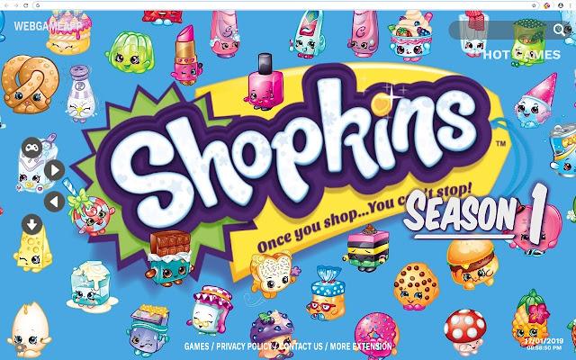 Shopkins Hd Wallpapers New Tab