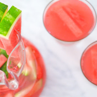 Watermelon Sangria W. Sauvignon Blanc.