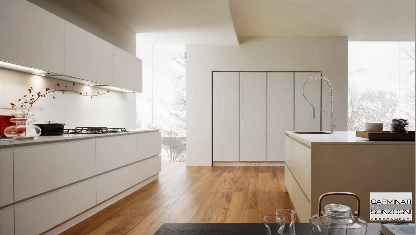Cucine la casa moderna carminati e sonzognicarminati e for Pareti casa moderna
