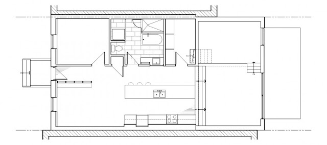 small townhouse extension   by naturehumaine