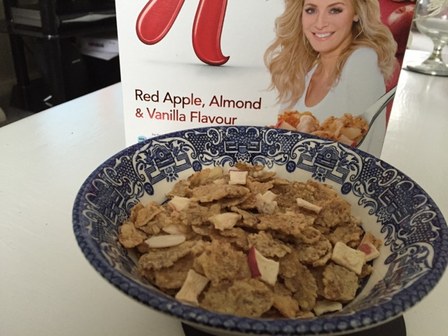 special k red apple, almond and vanilla