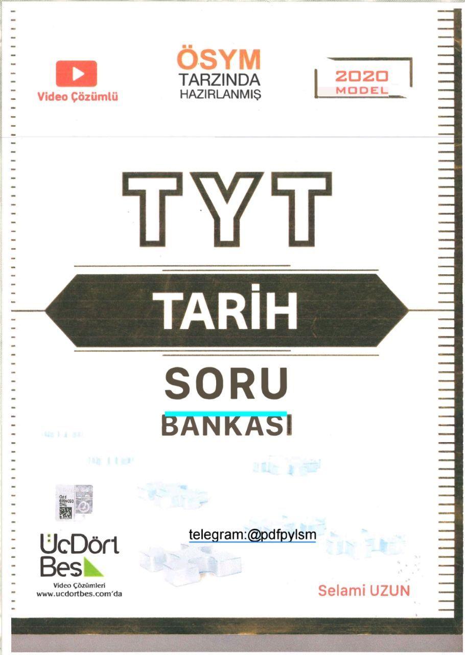 345 TYT Tarih Soru Bankası
