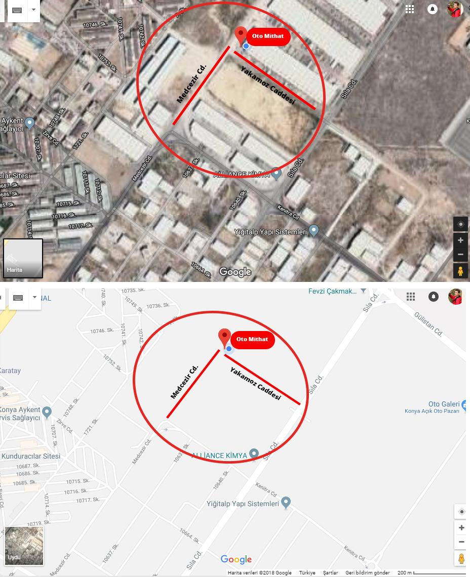 Google Haritalarda Işletmemin Bulunduğu Cadde Görünmüyor Google