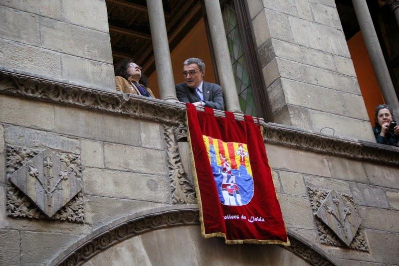 19è Aniversari Castellers de Lleida. Paeria . 5-04-14 - IMG_9543.JPG
