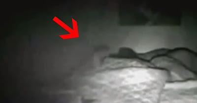 Mulher atormentada filma próprio sono e faz descoberta paranormal