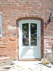 A 3 centred arch doorset for a listed barn conversion