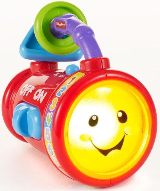 Đèn pin lí lắc Fisher-Price Y4232 Sing & Learn Light là món đồ chơi thông minh