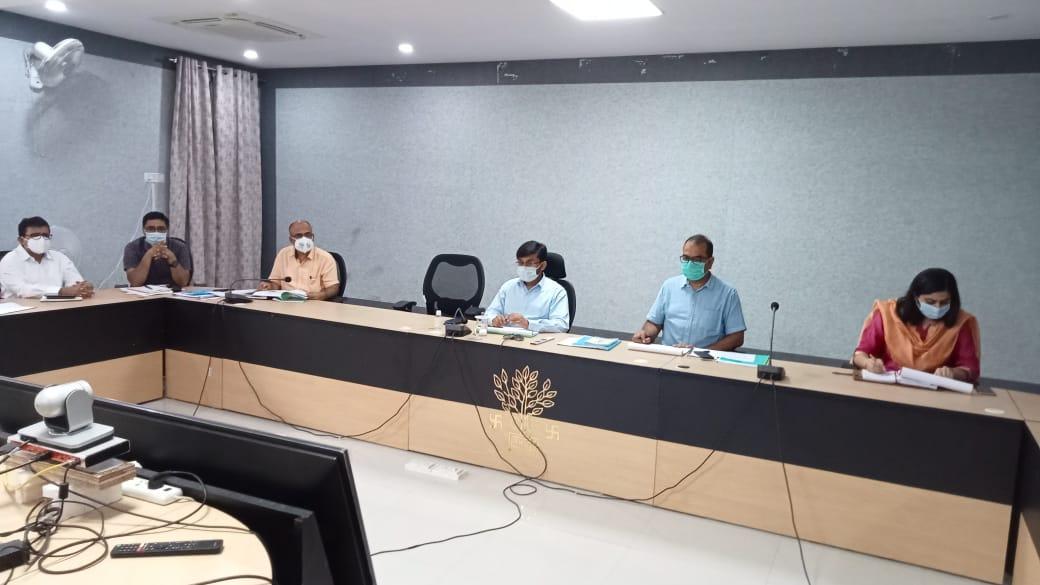 नल जल योजना ,लोहिया स्वच्छ बिहार अभियान एवं कई जनकल्याणकारी योजनाओं पर हुई बैठक