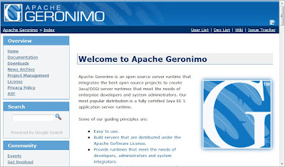 Geronnimo http://geronimo.apache.org/
