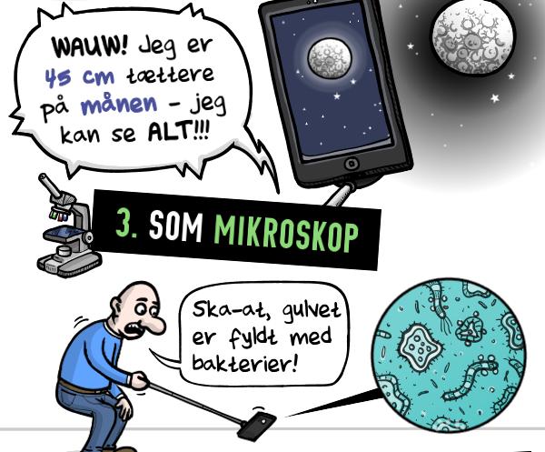 STRIBE FRA METROXPRESS: 5 nye måder at bruge din selfiestick
