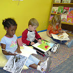 Quality is: providing classrooms and materials that support children's language and literacy.