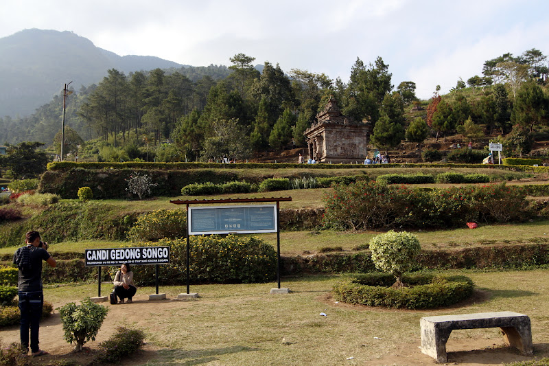 Vista general de Gedong Songo