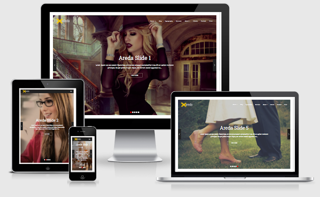 Areda Home 1 - Blogger Template free download