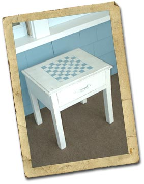 Color Me Home By Repcolite Checkerboard Table Easy As 1