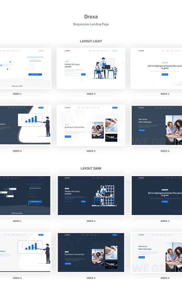 Zorial - Landing Page Template - 1