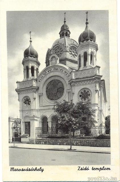 synagogue in Marosvasarhely